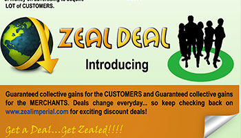 Zeal Imperial Flyer Back :: Logo Designed by WebComforts