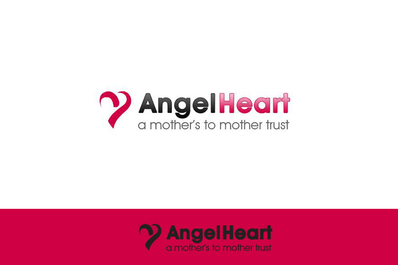 Angel Heart Nursery Dubai :: Logo Designed by WebComforts