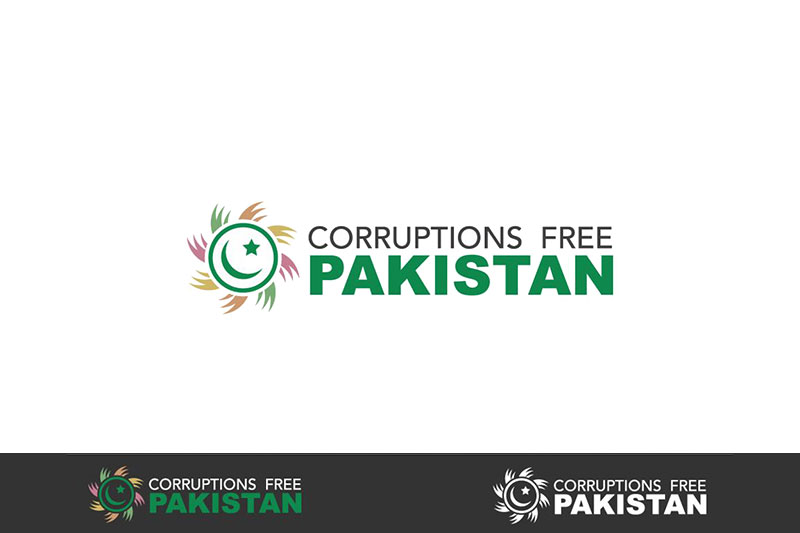 Corruption Free Pakistan :: Logo Designed by WebComforts