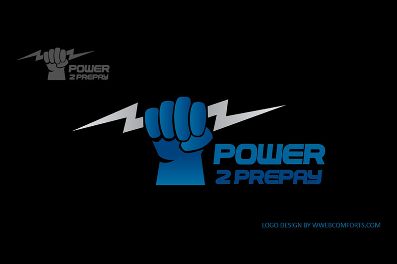 Power 2 PrePay :: Logo Designed by WebComforts