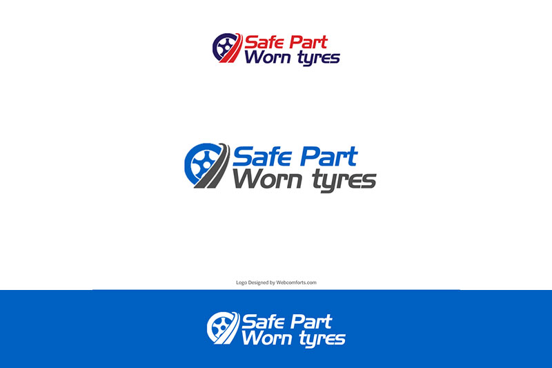 Safe Part Worn Tyres :: Logo Designed by WebComforts
