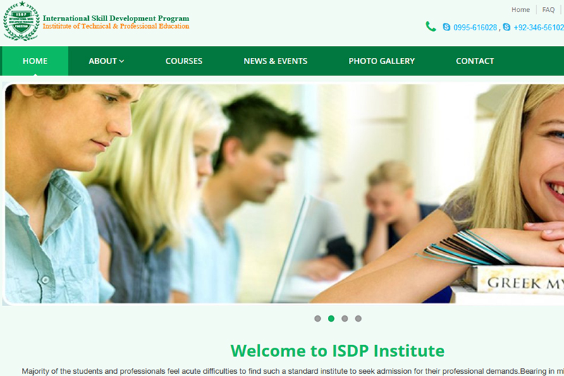 ISDP :: Website designed by Webcomforts