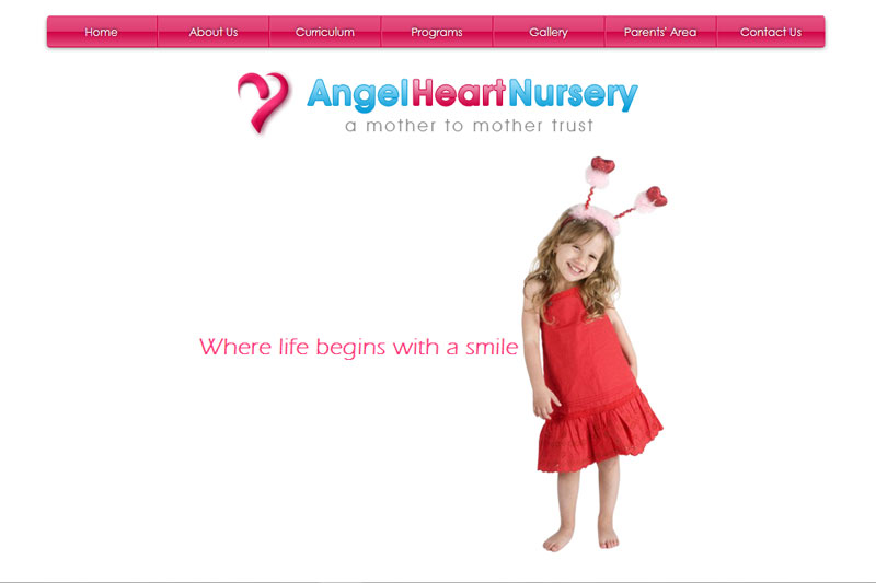 Angel Heart Nursery, Dubai  :: Website designed by Webcomforts