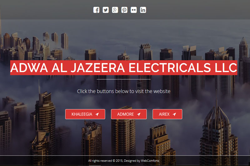 Adwa Al Jazeera  :: Website designed by Webcomforts