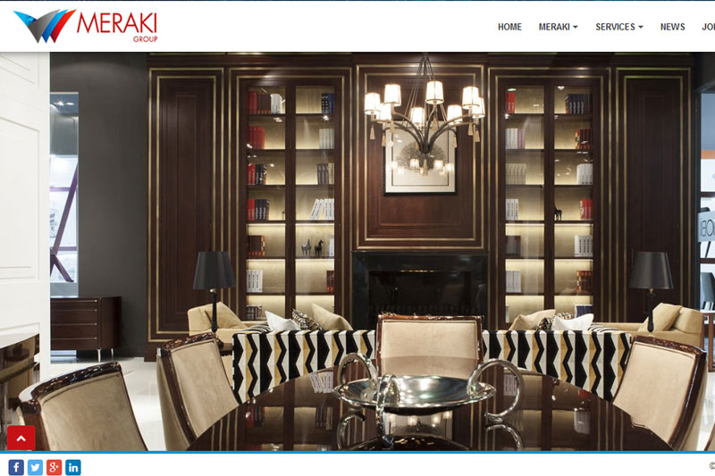 Meraki Group :: Website designed by Webcomforts