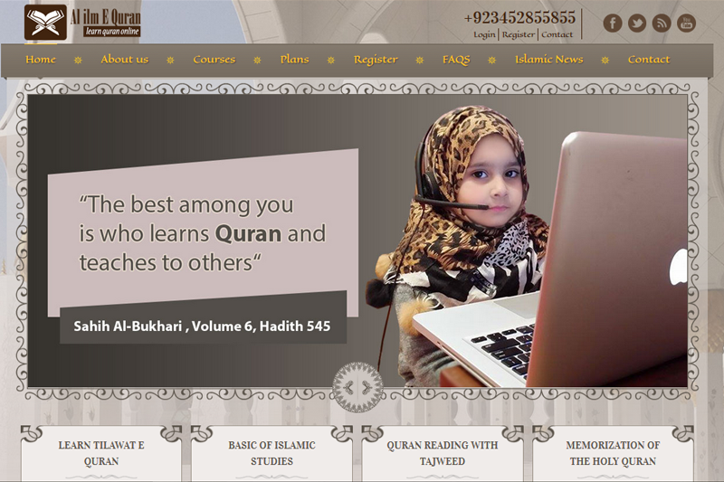 ALILMEQURAN - Website designed by Webcomforts