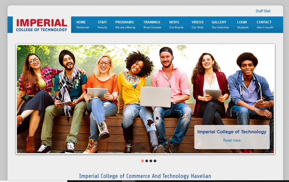 Technical College Website