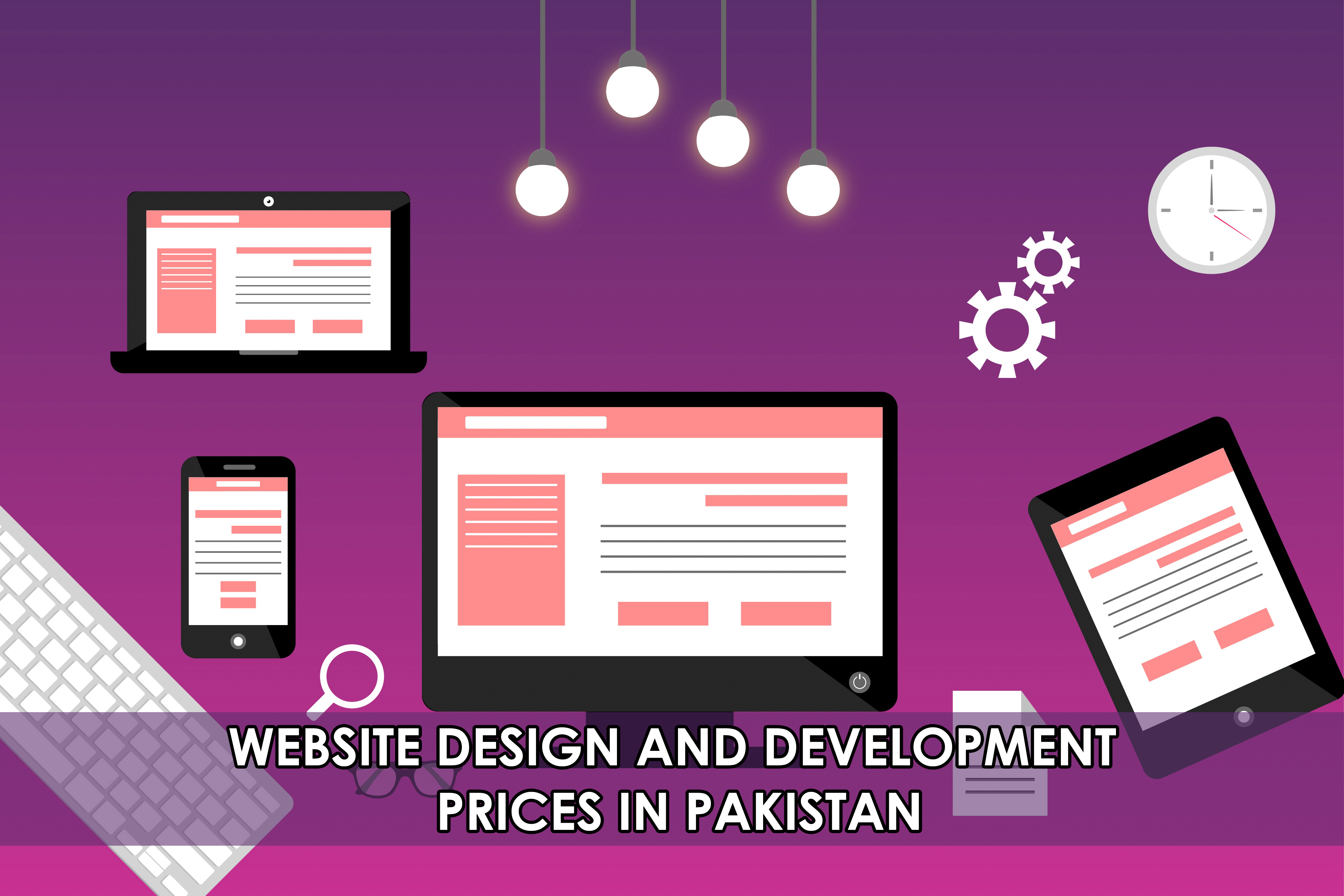 Website Design and Development Prices in Pakistan